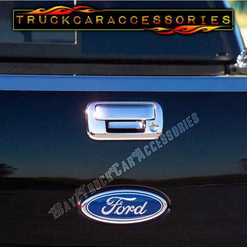 For FORD F150 2004-2007 2008 Chrome Covers Set Mirrors+4 Doors w//o+Tailgate KH