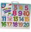miniature 4 - Pour Bébé Puzzle Enfants Puzzle alphabet lettres/chiffres en bois Learning Toys