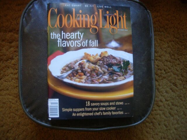 Cooking Light Magazine October 2003