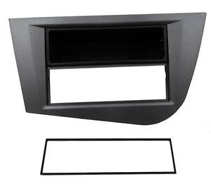 Facade-cadre-reducteur-autoradio-pour-SEAT-Leon-2-2005-2011
