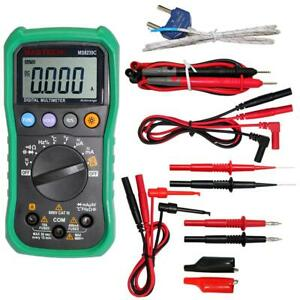 MASTECH-MS8239C-Digital-Auto-Range-Multimeter-with-Tipped-test-TL809-test-leads