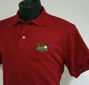 b98eb13c5 Vintage HAWAII Island Golf Polo Shirt Size Men s M 90 s Embroidered ...