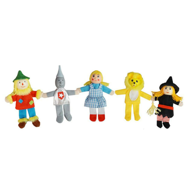 Finger Puppets - Wizard of oz ~ 5 characters by Fun factory