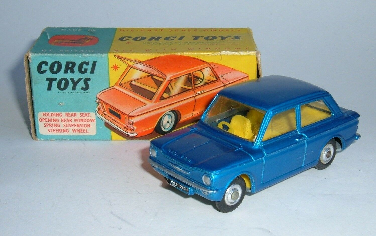 Corgi Spielzeugs No. 251, Hillman Imp, - Superb Near Mint