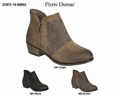 Zoey 19 Pierre Dumas 89853 laterali Zipper Moda Carino Comodo Alla Caviglia Stivaletti | eBay