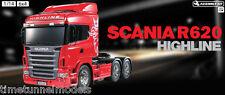 Tamiya 56323 Scania R620 - Radio Control Self Assembly Truck Lorry Kit 1:14 RC