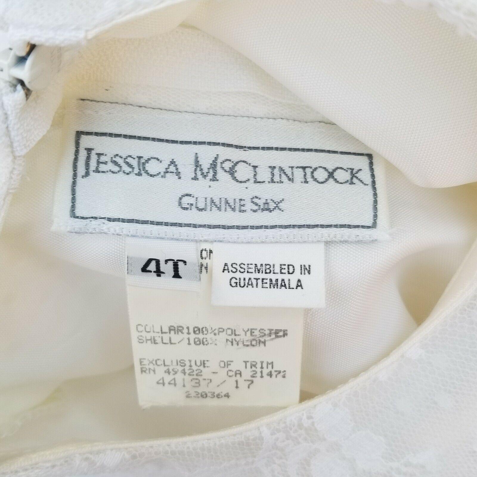 Vintage 80s GUNNE SAX JESSICA MCCLINTOCK GIRLS CR… - image 7