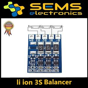 3S LiPo Li-ion Board 18650 BMS Balance PCB Battery Protection 4.2V 12.6V - Deutschland - 3S LiPo Li-ion Board 18650 BMS Balance PCB Battery Protection 4.2V 12.6V - Deutschland