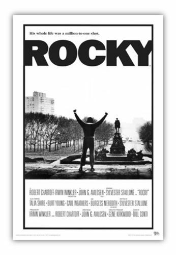 24x36 STALLONE BOXING 2620 ROCKY MOVIE POSTER