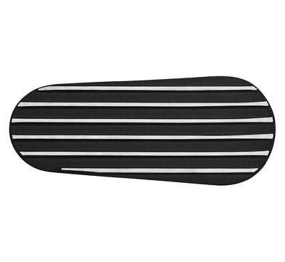 Kuryakyn 9236 Primary Inspection Cover Black Finned Harley 2007-2017 48-1343