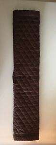 Quilted-Brown-Cotton-Poly-Fill-Western-Cinch-Girth-Cover-4-5-X-22-5