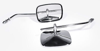 Spiegel für Harley-Davidson Chrom Classic links rechts Arm lang long stem HD