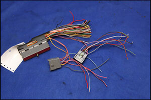 96 97 98 ford mustang new oem ecu computer pcm pigtail plug wiring image is loading 96 97 98 ford mustang new oem ecu