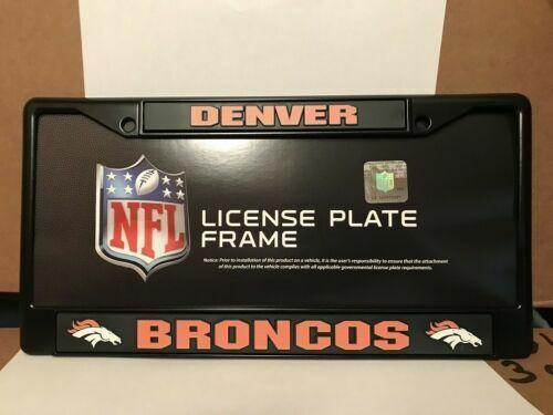 Rico Denver Broncos Chrome License Plate Frame