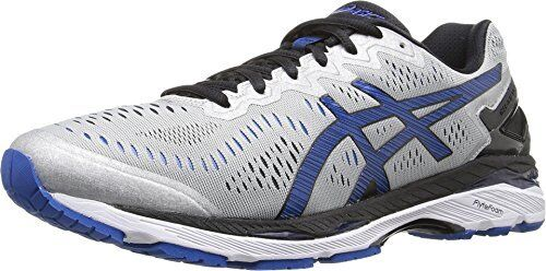 Buy ASICS Kayano 23 Men Running Shoes T648n 9345 Silver Imperial Black 7.5  Medium (d M) online  677cd35c388e