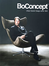 NEW UNREAD BoCONCEPT FURNITURE CATALOG 2016 160 PAGES w/ Prices HOME DECORATION