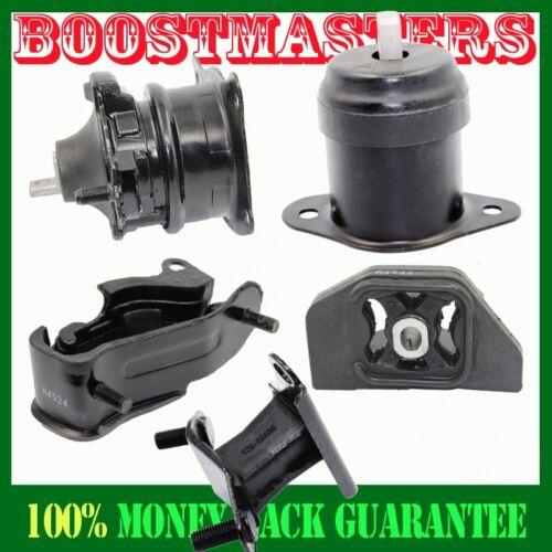 For 03-07 Accord 3.0L V6 4526 4525 4544 4524 4517 Transmission+Engine Mount Kit
