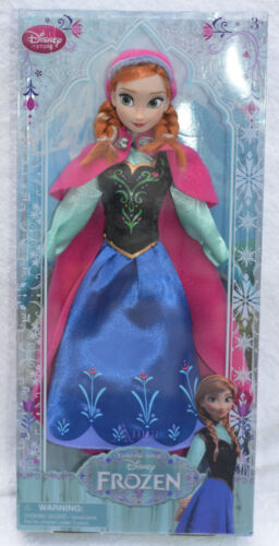 with Free P /& P Authentic Disney Store Frozen princess Anna Classic doll