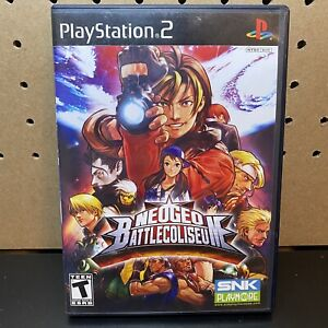 NeoGeo Battle Coliseum (Sony PlayStation 2, 2007) COMPLETE & TESTED