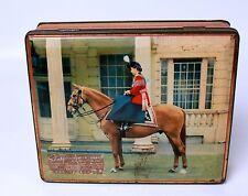 Elizabeth II Commemorative Tin Edward Sharpe Queen on Horseback