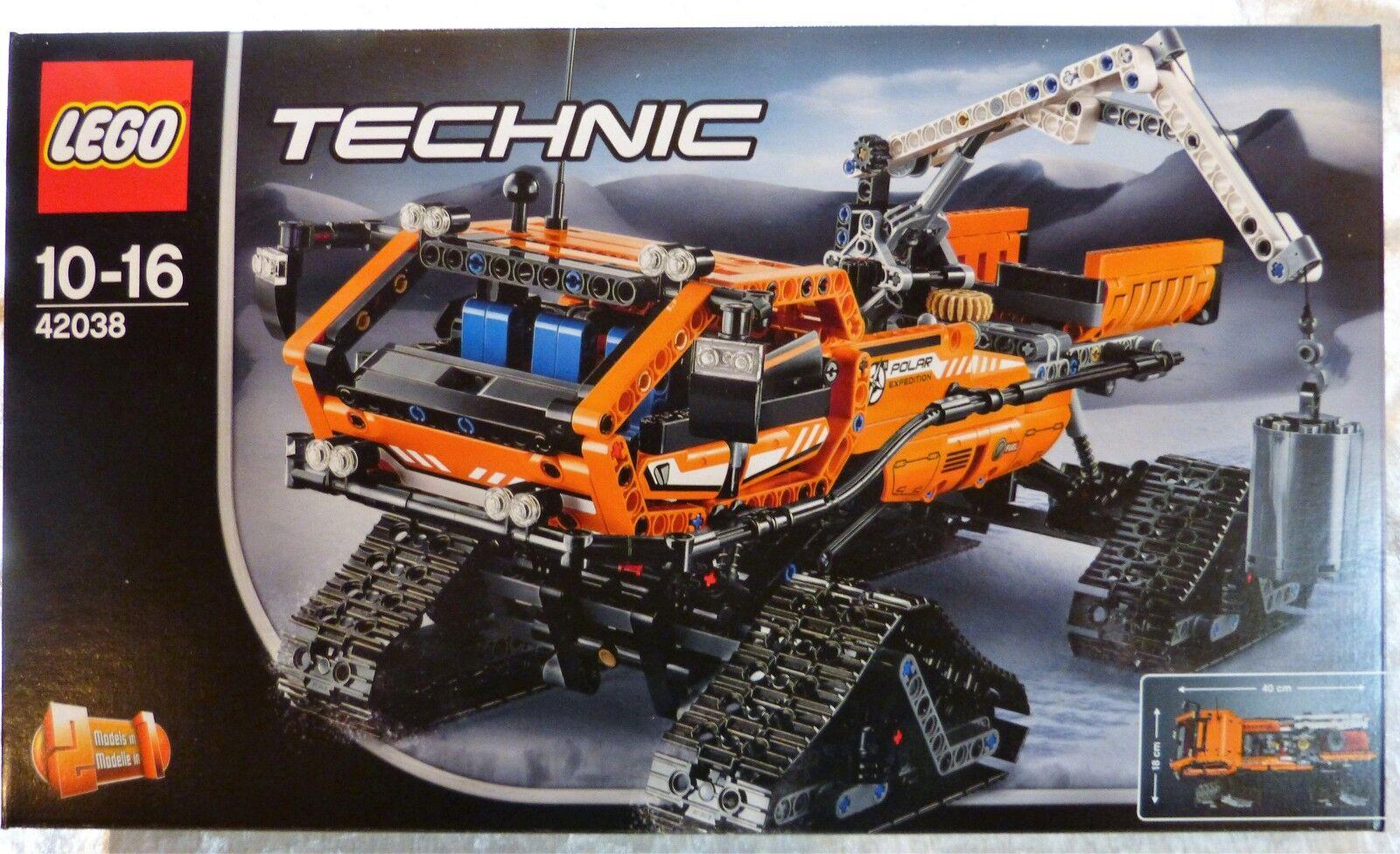 LEGO 42038 Technic Arktis Kettenfahrzeug  Neu & OVP