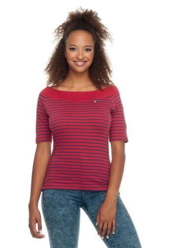 Ragwear T-shirt Femme T-shirt Seina 1911-10018 Rouge Chili Red 4045