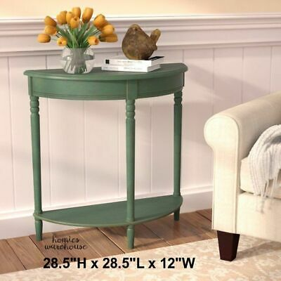 Half Moon Entry Table Small Console