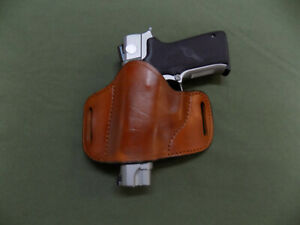 """1911 5/"""" with Rail Thumb Break Holster Made in U.S.A by American Pride Holster co"""