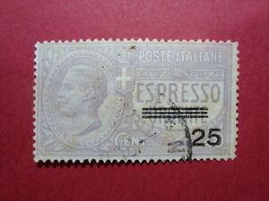 ITALIA-REGNO-1917-FRANCOBOLLO-ESPRESSO-N-A3-USATO-VAL-CAT-95-00