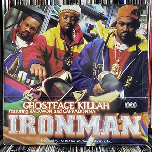 GHOSTFACE KILLAH - IRONMAN (VINYL 2LP)  1996!!  RARE!!!  RAEKWON + CAPPADONNA!!!