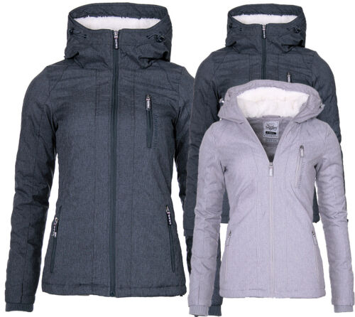 Efterår Parka Underlevel Jacket Fur Hood Ladies Windbreaker Winter Vandtæt qww65pxaAS