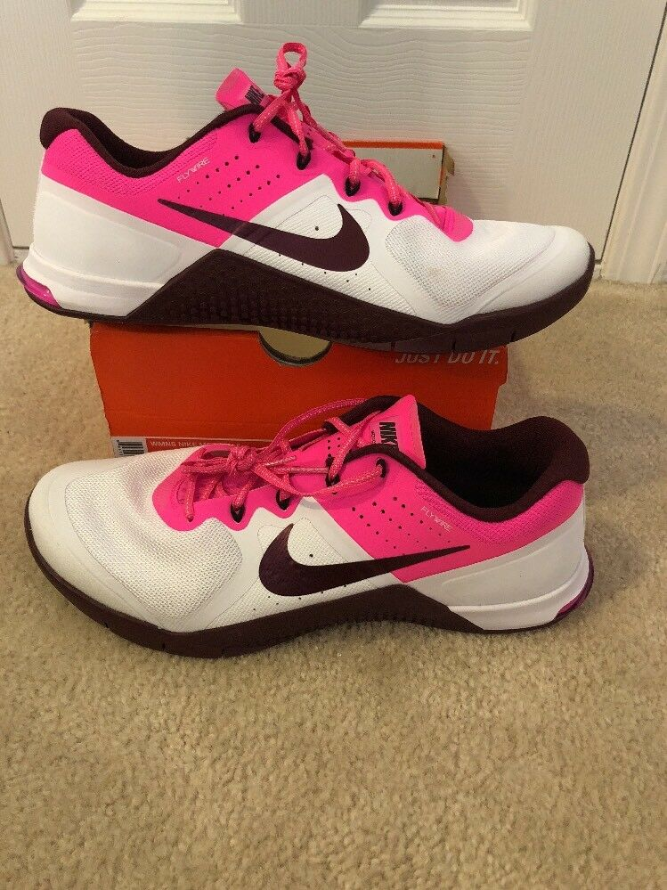 Nike Womens Metcon 2 Shoes 821913 106 Running Cross Training Size 14 Rare Size