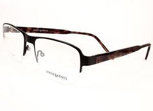 90d379c6ba35 Jhane Barnes Molecular Black Men Eyeglasses Retro 52-18-140 Frames ...