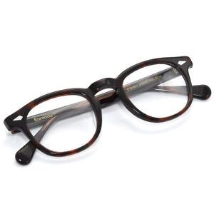 Round-Johnny-Depp-Vintage-Eyeglasses-Tortoise-Top-Italy-6mm-Acetate-Rim-Frame