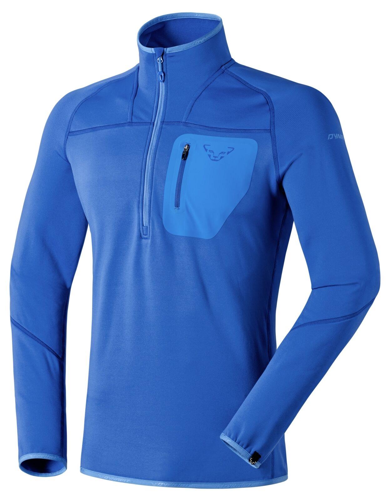 NEW Dynafit THERMAL Voltage Mens Medium 1 2 Zip Running Midlayer T-Shirt Ret