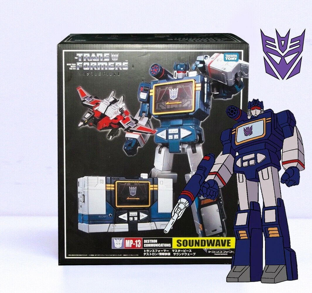 Transformers MP-13 MP13 Masterpiece Soundwave laser beam G1 NEW IN BOX
