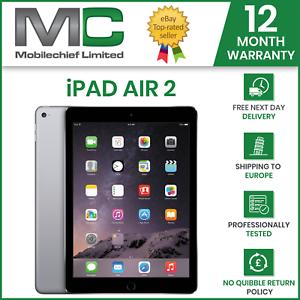 Apple iPad Air 2. 32GB, Air 1st Gen 16gb, Wi-Fi, 9.7in, Grade A, 12 M Warranty
