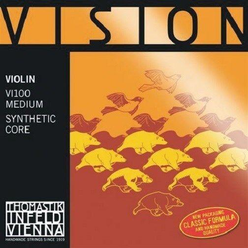 Thomastik Vision Violin Violin Violin String Set 4 4 Mediano  60% de descuento