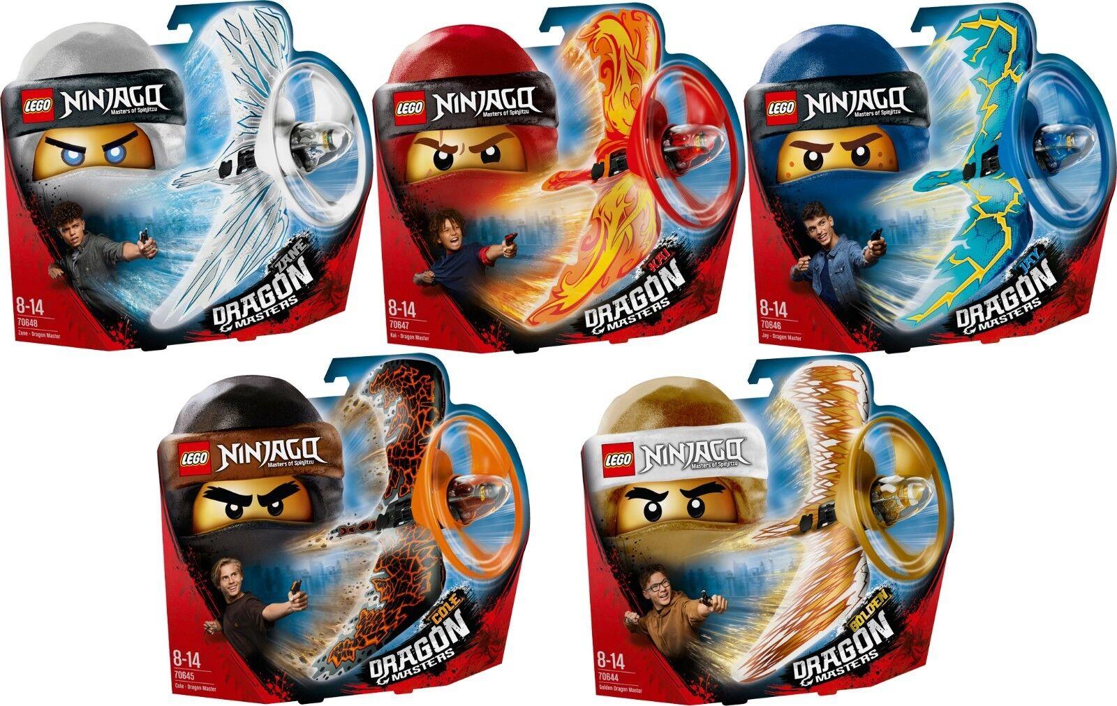 LEGO Ninjago 70648 70647 70646 70645 70644 Drago maestro ACTION TOYS n6/18