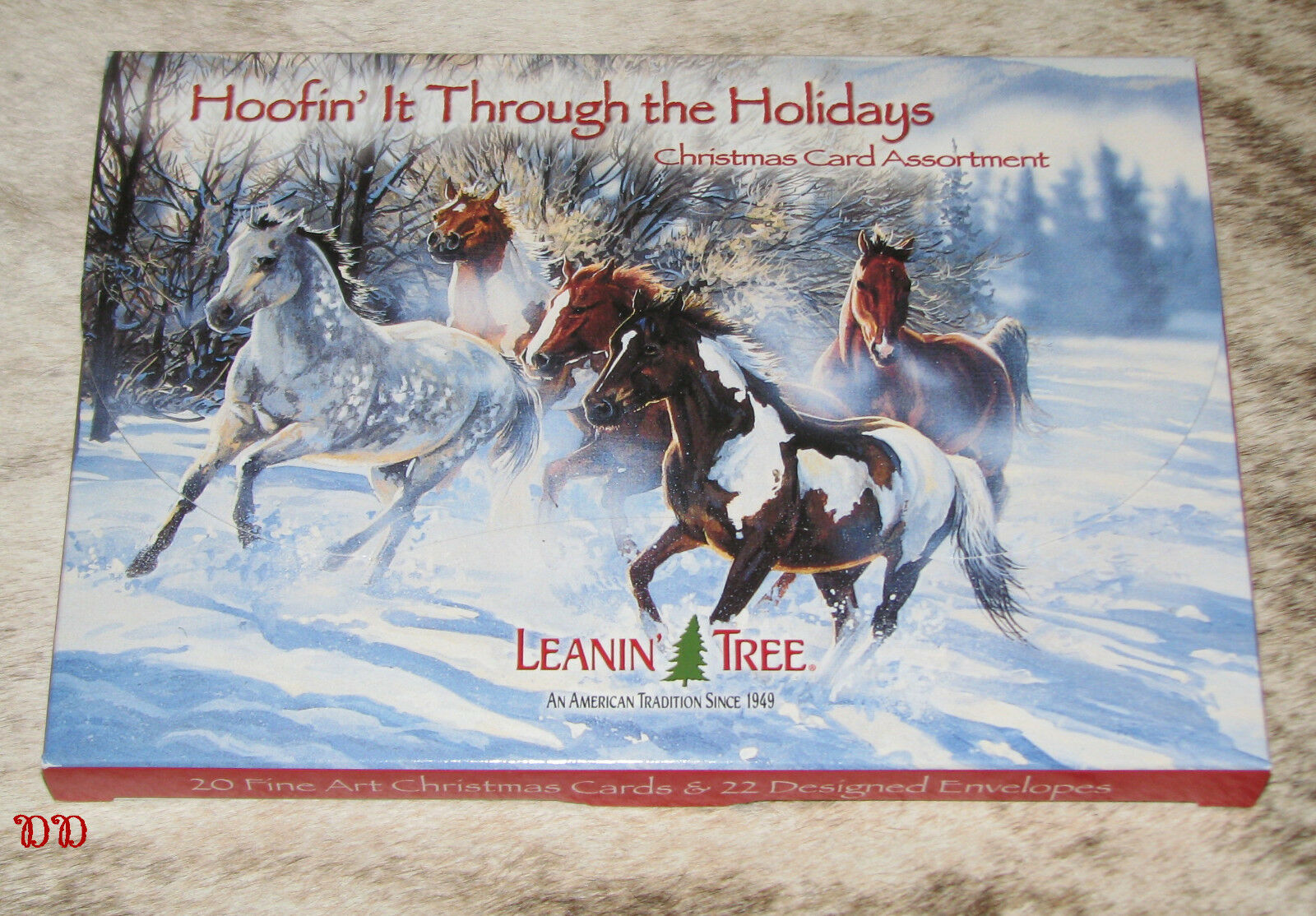 Leanin Tree Hoofin\' It Through The Holidays Christmas Cards 2 EA of ...