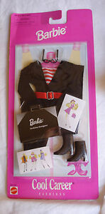 Original Barbie doll clothes Cool Career Fashion Designer new in package