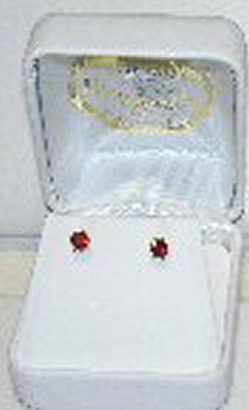 NEW 14K genuine birthstone,.46 Ct.T.W. earrings,studs all months available