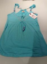Replay 'W5846' Turquoise studded detail vest XS