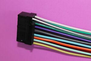 wire harness for sony dsx s310btx dsx m60ui xnv 77bt mex bt3800u cdx Sony Auto Audio