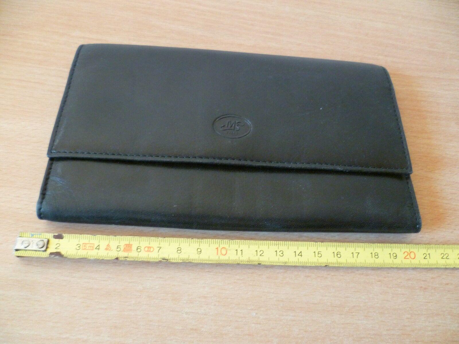 (b5) cards wallets and coin mp paris melissa leather tres bon etat