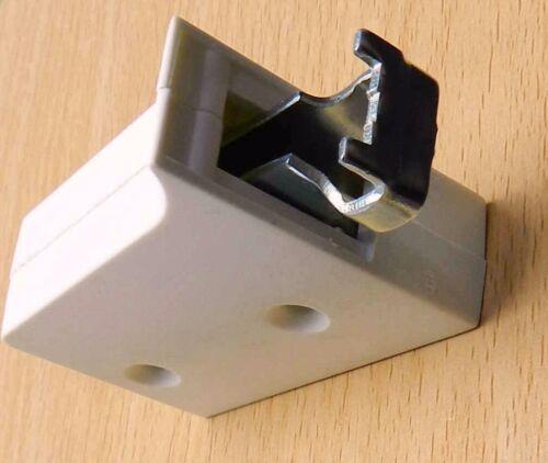 2x BLANC meuble cuisine cintres pour Mur Armoire unités 2 manière réglable CEN034