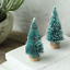 15Pcs-MINI-Sisal-Alberi-di-Natale-Ornamento-in-miniatura-Gelo-Neve-Albero-Natale-Decor miniatura 8