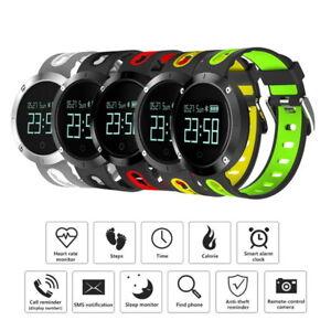 Dm58 Smart Watch Fréquence Cardiaque Moniteur Pression Sanguine Bande Imperméable Ip68 Bracelet-afficher Le Titre D'origine