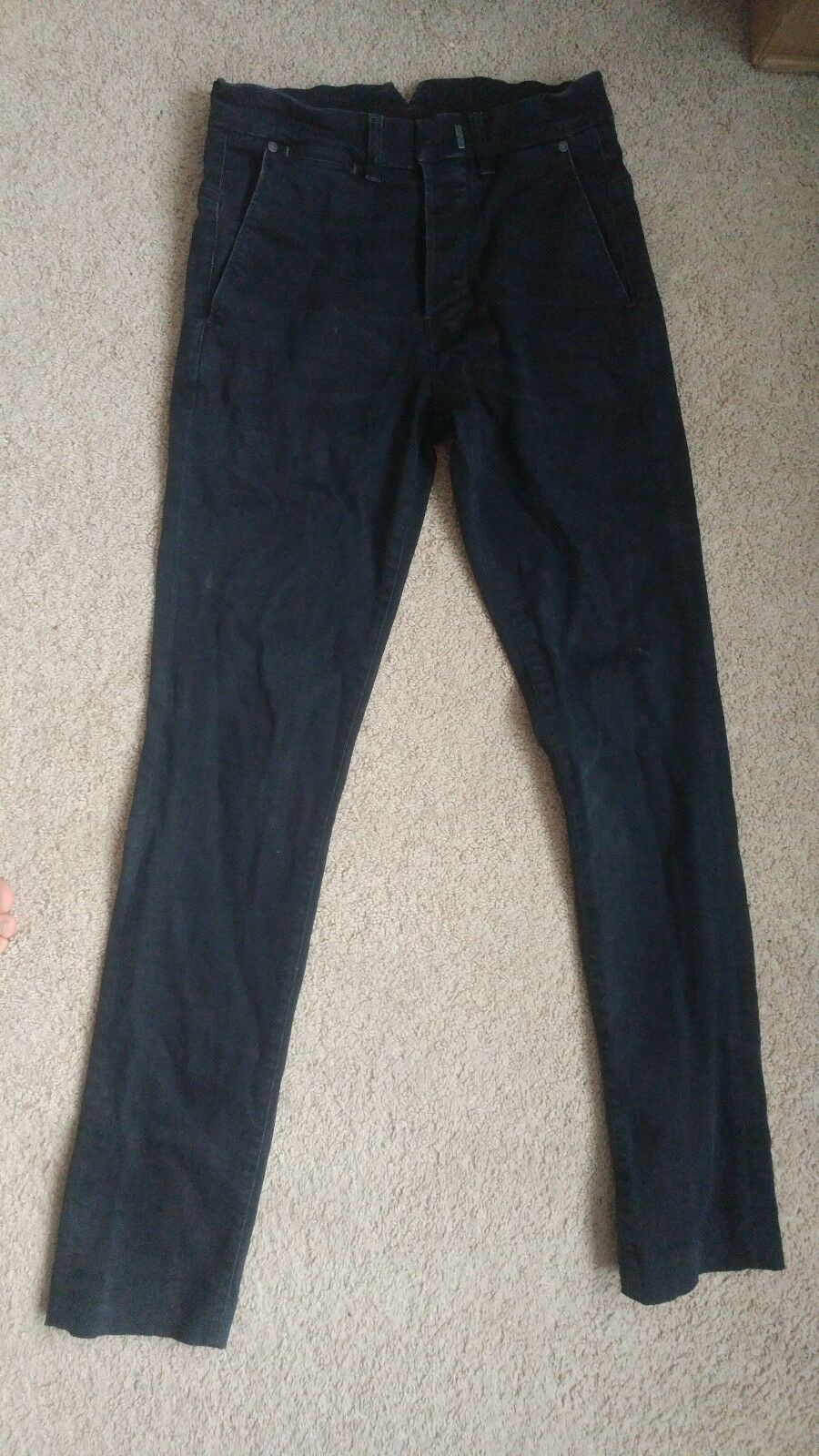 7 for all mankind mens jeans slim fit 28 made in italy
