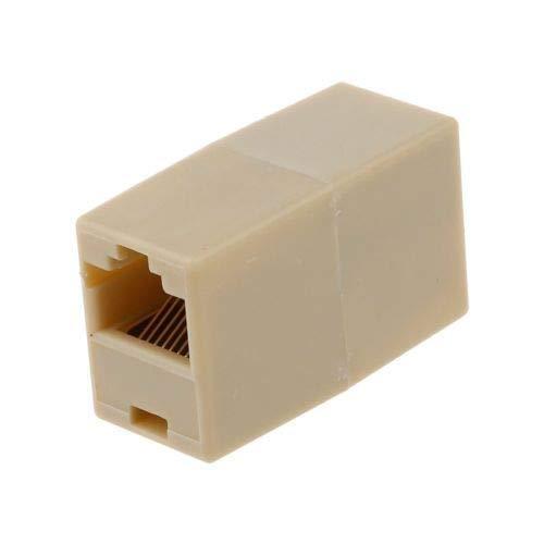 RJ45 RJ11 INLINE Cat5 CAT6 Network LAN Cable Extension Coupler Joiner Extender